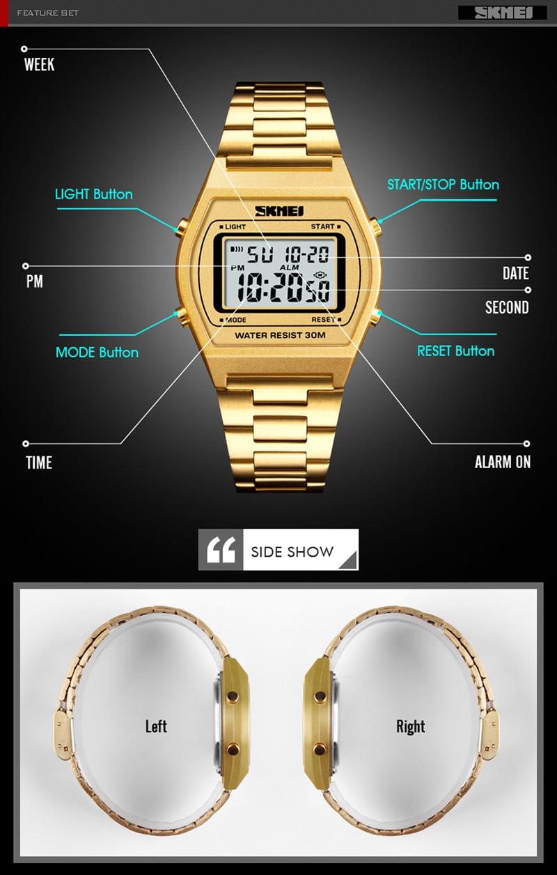 054eed68a29 Esportes homens Relógios À Prova D  Água Mens Relógio de Quartzo Digital de  Alarme Cronômetro Militar Dual Time Zones Nova Marca relogios masculinosUSD  ...
