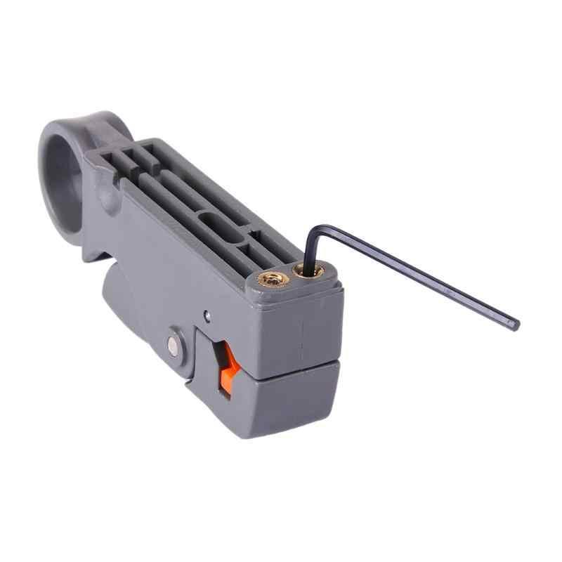 Hot Automatic Wire Stripper Cortador de Fio de Cabo Descascar Alicate Ferramentas Alicate de Decapagem de Friso Ferramenta com Chave Sextavada