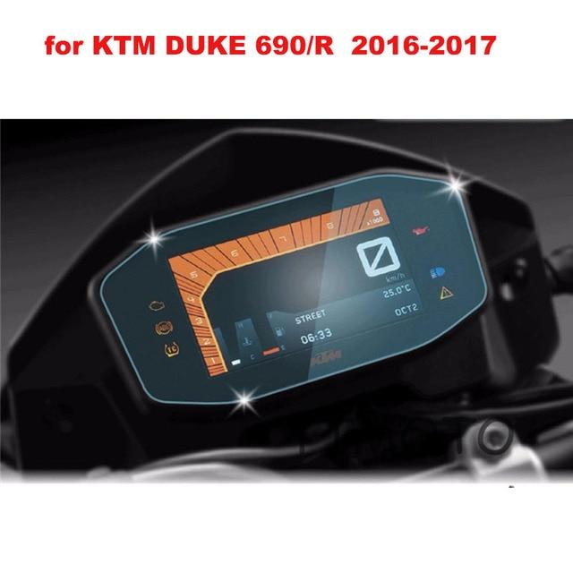 for KTM Duke 690/R 690 R 2016 2017 Film Motorcycle Dashboard Protector GPS Navigator Protective Film Screen