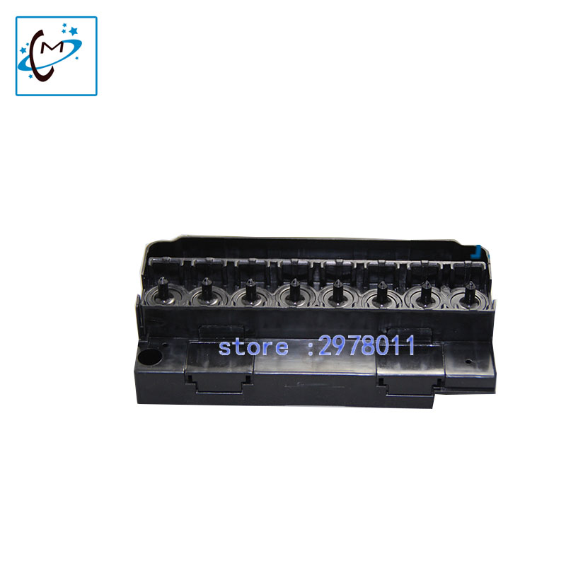 Water based DX5 manifold for  DX5 printhead adapter For Pro 4880 7800 9880 9800 Mutoh RJ900C piezo printer head cover 10pcs new roll paper cutter blade for epson 4800 4880 7800 7880 9800 9880 7400 7600 9600 printer paper cutter