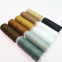 10Pcs Assorted Colors Domestic Machine Polyester Thread Sewing Accessories