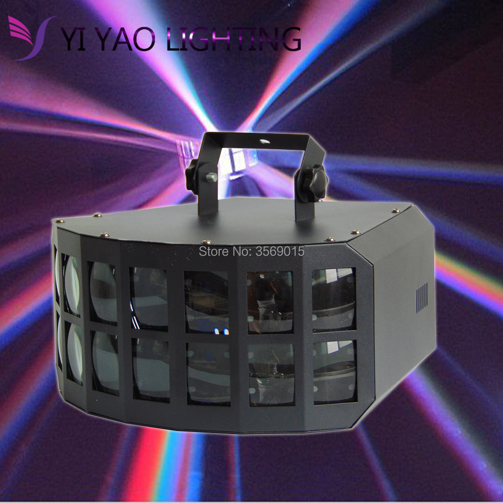 RGBW LED Double Butterfly 4in1 LED stage effect lights Party Disco DMX512 led Stage Lamp DJ RGBW LED Double Butterfly 4in1 LED stage effect lights Party Disco DMX512 led Stage Lamp DJ