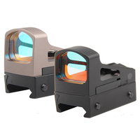 Tactical RMS Reflex Micro Red Dot Sight Scope Con Montaggio e Distanziali Per Airsoft Glock Pistola HT5-0035 Ventilato