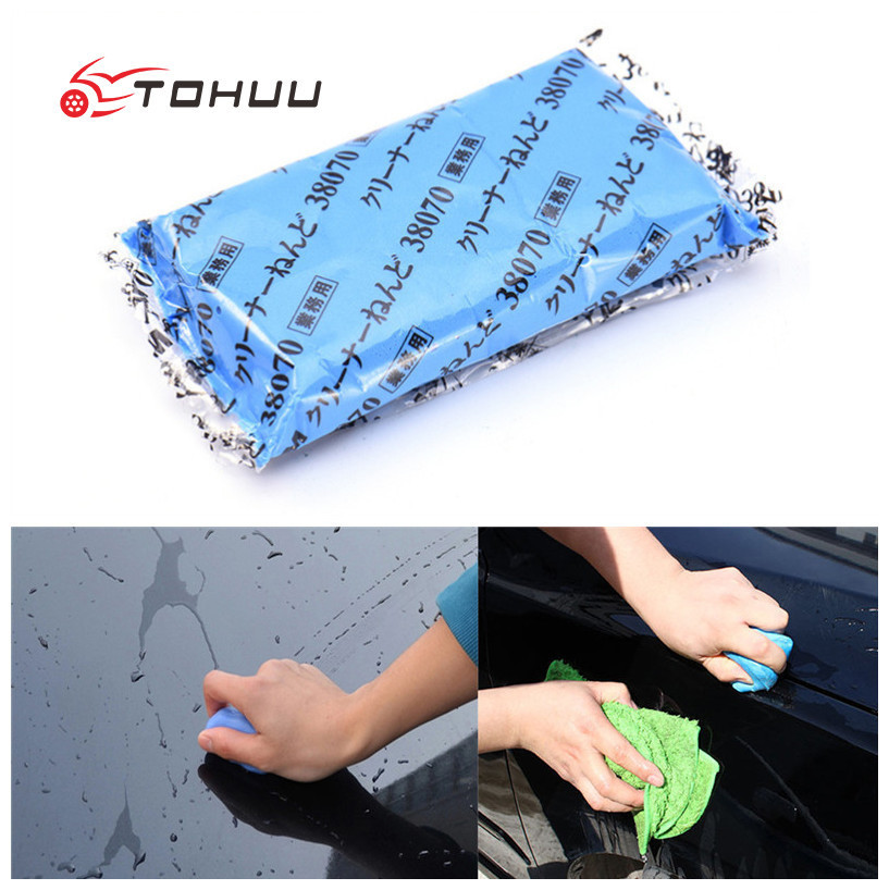 Magic Blue Clay Car Motorcycle Washer Bar Auto Detailing Magic Clay Bar Cleaner Car Tools Care Tools Maintenance
