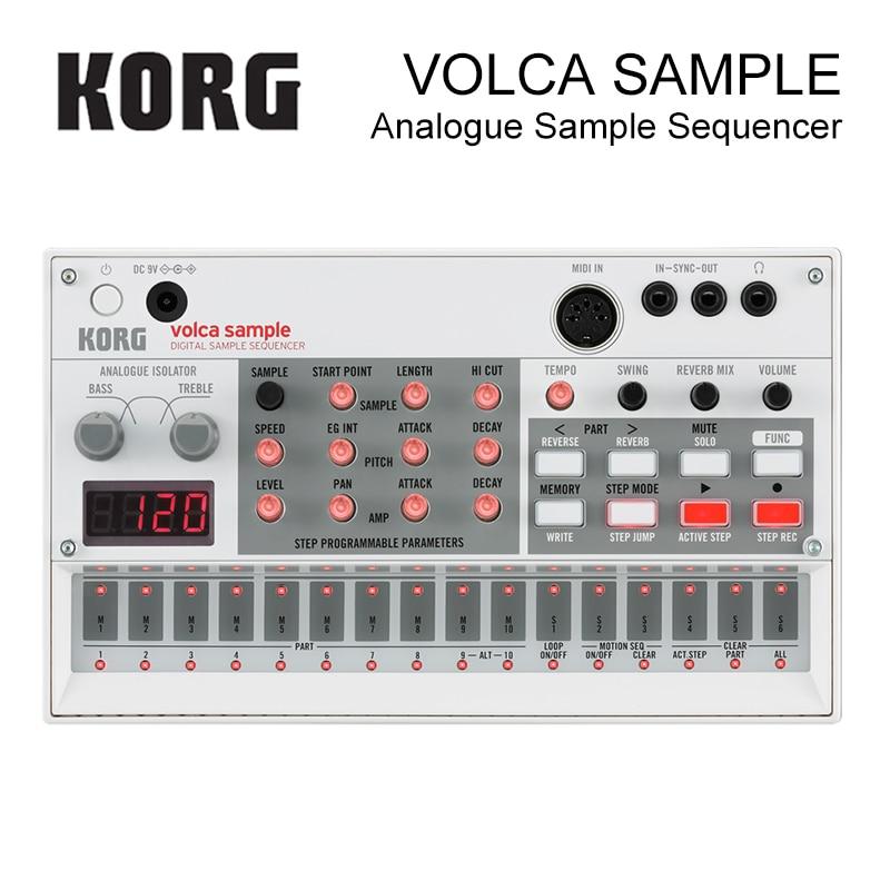 Korg Volca Sample Playback Rhythm Machine синтезатор korg volca bass