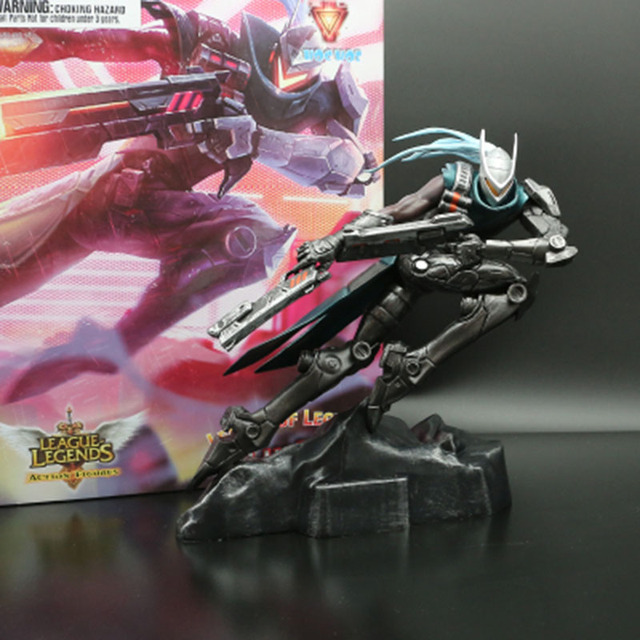 LOL League of Legends figure Lucian Project limited edition Model Toy action-figure Game Heros anime party decor Creative Gift 1