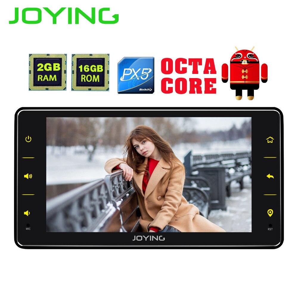 JOYING dernière unique din 6.2 ''android 8.1 autoradio unité stéréo octa core lecteur multimédia support carplay et vidéo