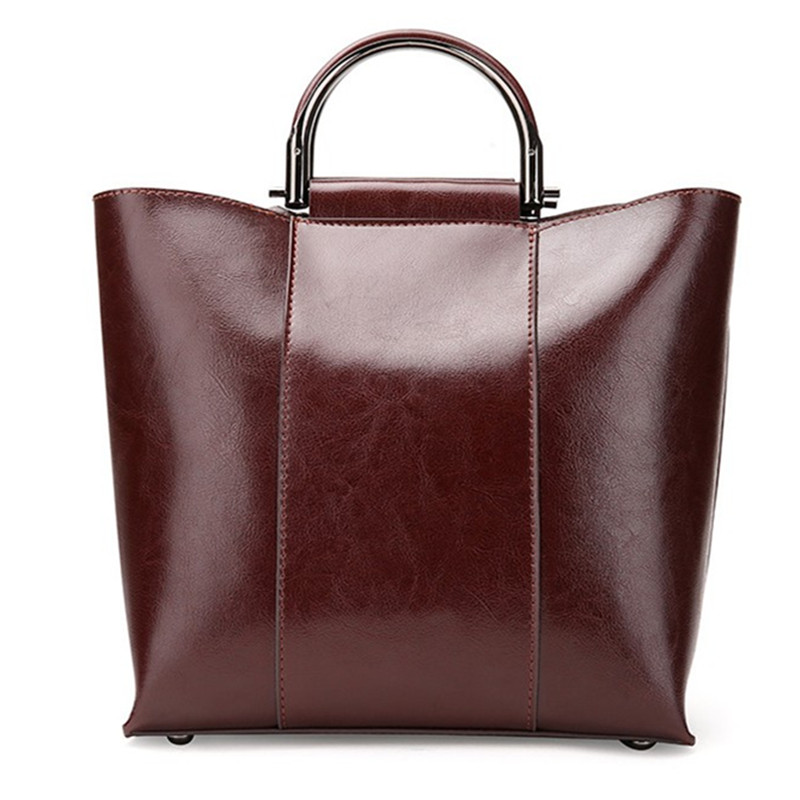2017 New Genuine Leather handbag women bucket shoulder bag female high quality cowhide tote bag fashion top-handle bag vintage style women s genuine leather handbag tote top cowhide shoulder bag clutch evening bag braided handle