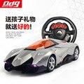 Truque de Uma Chave Para Abrir A Porta Modelo de Simulação Brinquedo Da Roda de Direcção do Carro de Controle Remoto Grande 1:12 Esportes Indução Gravidade
