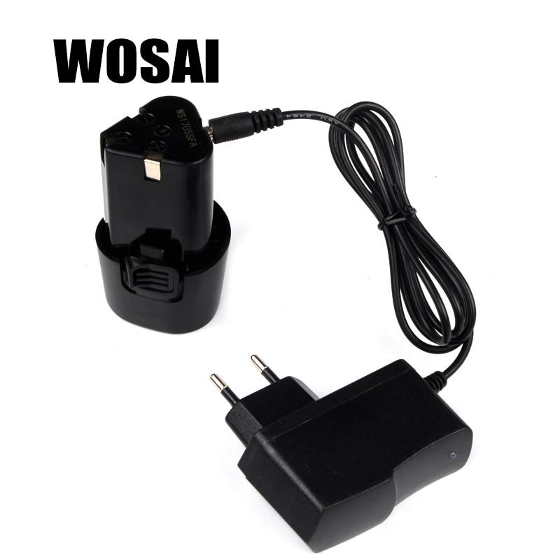 WOSAI 12V akumuliatorinis gręžtuvas Ličio akumuliatoriaus - Elektrinių įrankių priedai - Nuotrauka 3