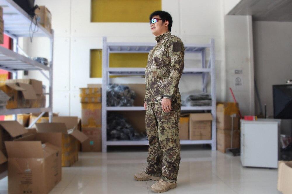 Us Army Military Uniform For Men Training Uniform Camouflage Suit Special Warfare Suit ACU Military Uniform