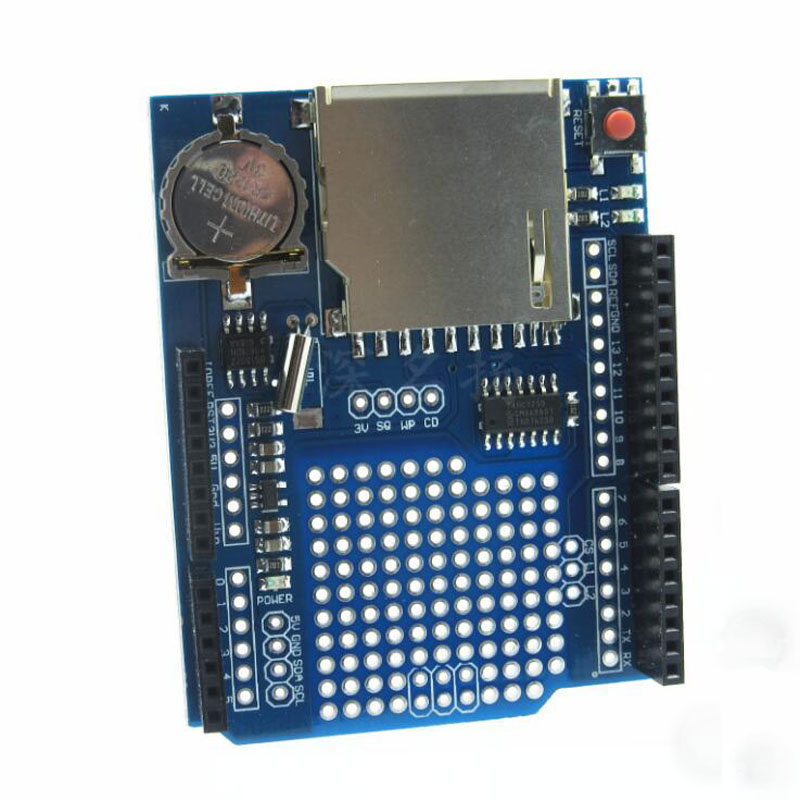 XD 204 Data Logging Shield Module Acquisition For Arduino UNO SD ...