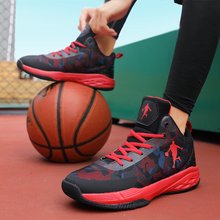 Thestron Basketball Shoes For Men Sneakers Blue Man Sport Anti-Slipery