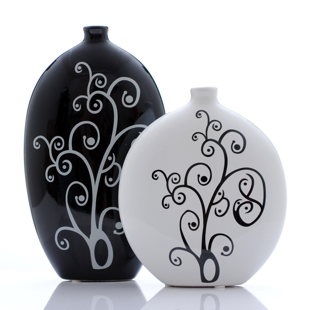 online buy wholesale black and white vases from china black and  - ceramics abstract black and white vase modern fashion home furnishingdecorative furnishings decoration crafts(china
