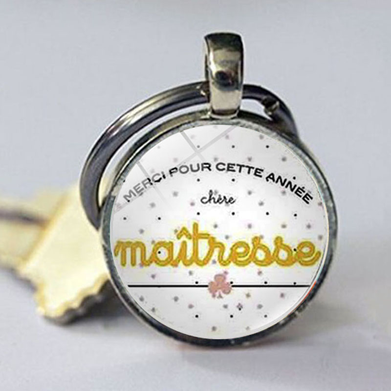 2018 new teachers gifts great teacher keychain teaching is a work of heart key chain ring holder men women jewelry for gift