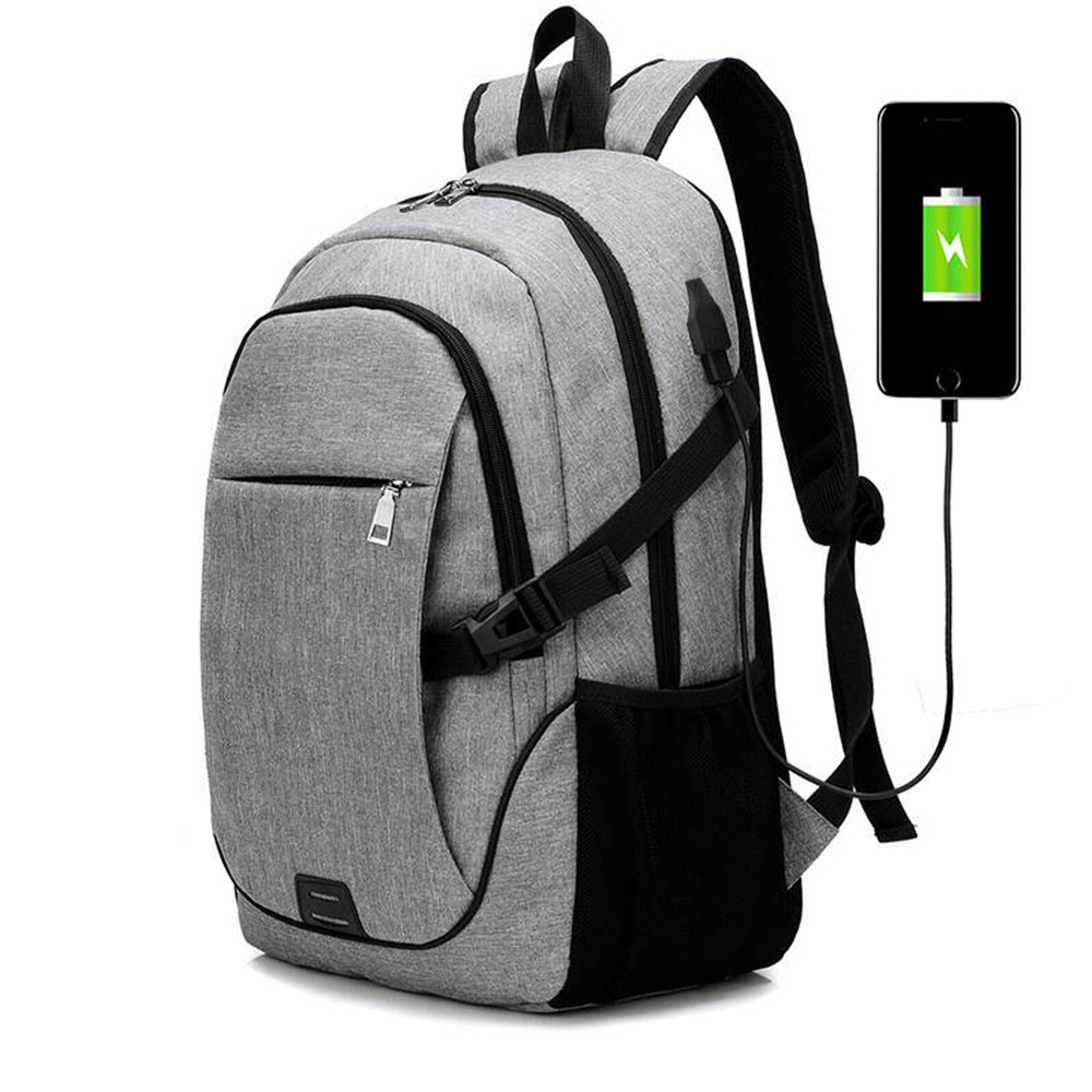 Jorgeolea Men Leisure Travels Backpack Male Business Labtop Backpack USB Charging Function Shoulders School Bag 0527