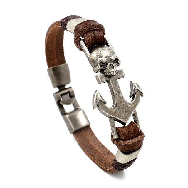 Charm Leather Bracelet...