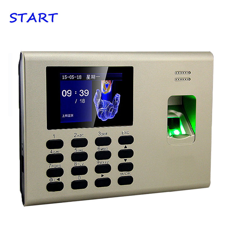 ZK K40 TCP/IP USB Biometric Fingerprint  And Time Attendance With Built In Back Up Battery Fingerprint Time Clock