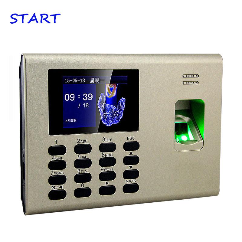 ZK K40 TCP/IP USB Biometric Fingerprint  And Time Attendance With Built In Back Up Battery Fingerprint Time Clock