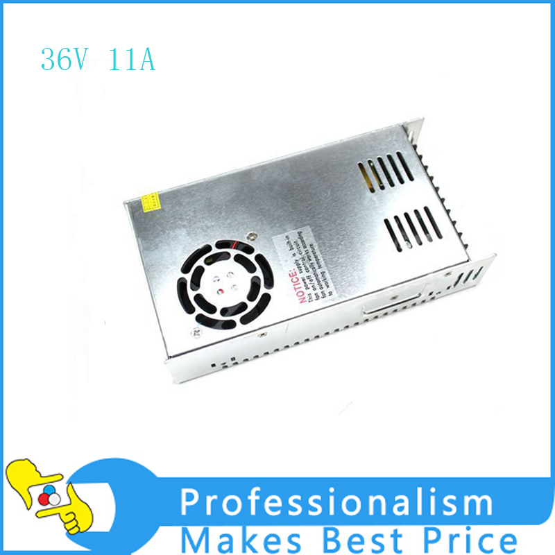 Single Output Switching power supply power suply unit 400W 36v 11A ac to dc power supply ac dc converter single output uninterruptible adjustable 24v 150w switching power supply unit 110v 240vac to dc smps for led strip light cnc