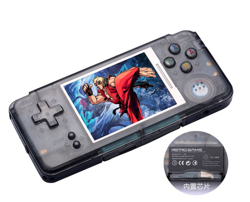 5pcs Wholesale RS-97 Mini Handheld Game Console Built-in 1151 Childhood Games Portable V ...