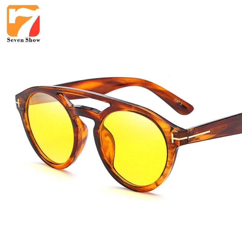 Fashion TF Men Sunglasses Women Men Brand Designer Vintage Sun Glasses For Male Female Mirror Clear