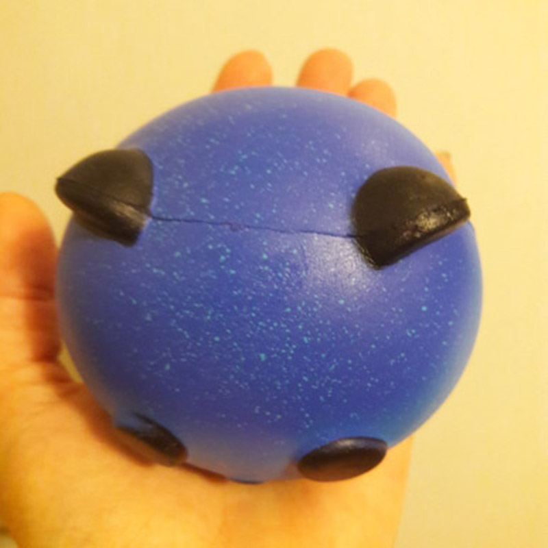 Cute Blue Panda Cream Scented Squishy Slow Rising Squeeze Kid Toy Charm Gift Novelty Fun Toys Squishies Antistress Toy