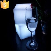Diameter 13CM Magic Dice LED luminous square night light glowing decorative led cube lumineux table light for mood light 30pcs