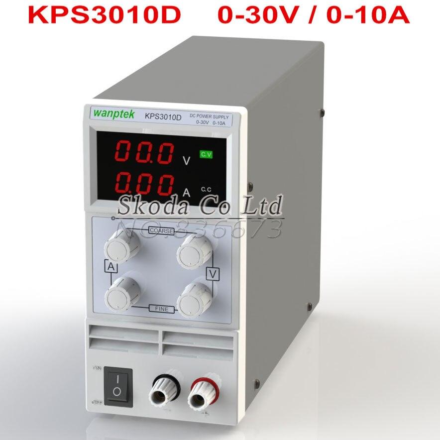 wholesale precision Digital Adjustable MINI DC Power Supply KPS-3010 30V10A 0.1V/0.01A 110V-220V with EU/AU cable cps 6011 60v 11a digital adjustable dc power supply laboratory power supply cps6011