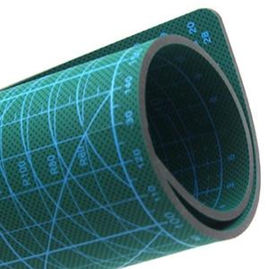 Image 5 - A2 PVC כפול מודפס ריפוי עצמי חיתוך מחצלת תפירה מלאכת רעיונות לוח 60*45cm טלאי בד נייר קרפט כלים