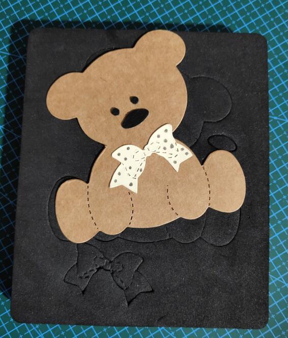The Bear 22 Wood Moulds Die Cut Accessories Wooden Die Regola Acciaio Die Misura MY