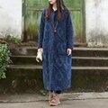 Традиционный Китайский Платье Этническая Зимняя Куртка Женщин Вниз Пальто Хлопок Белье Весна Осень Длинные Пальто Тренч Пальто Манто Femme