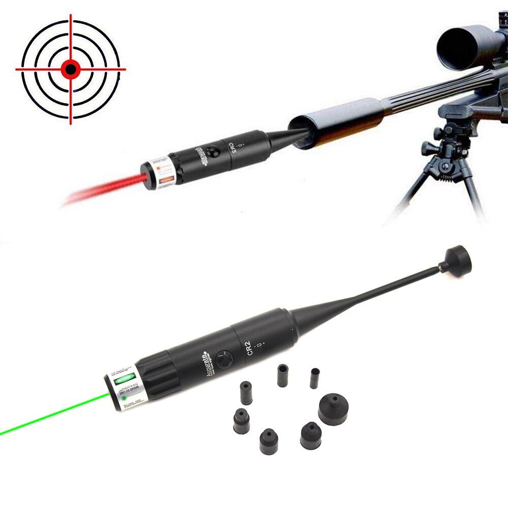 Red Laser BoreSighter kit for .22 to 50 Caliber Rifles Handgun Dot Bore Sight