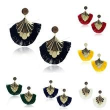 Womens Tassel Earrings Female Boho Bohemian Ethnic Anniversary Wedding Party Jewelry Accessories