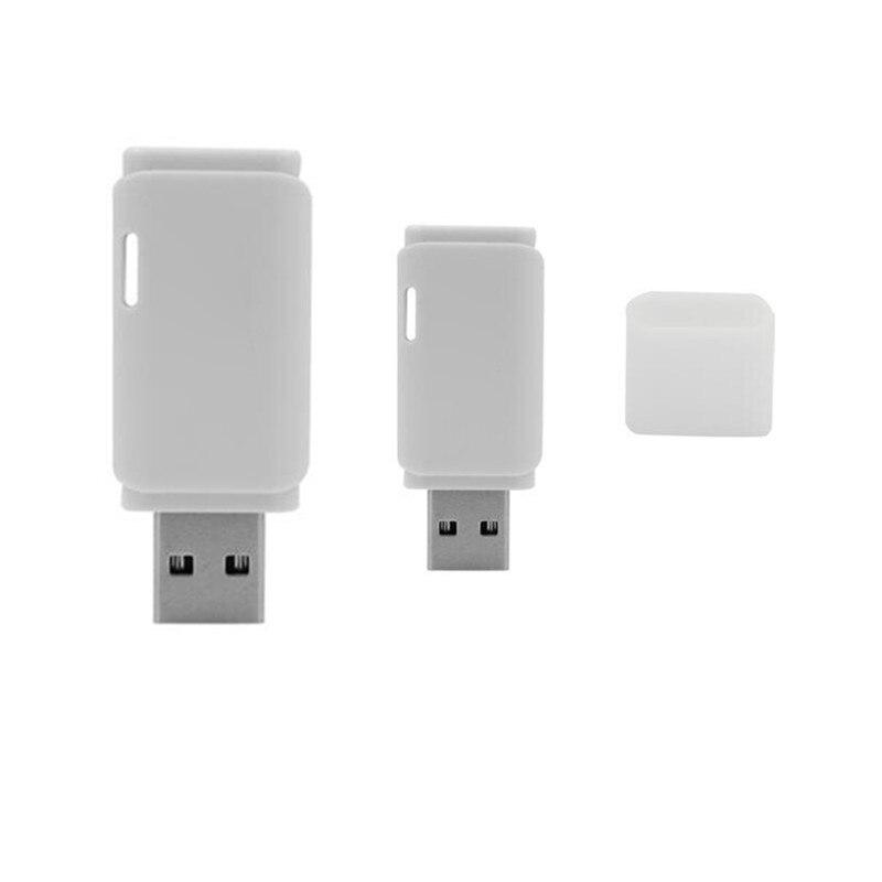 Free shipping top 100% full capacity 64GB 32GB 16GB 8GB USB 2.0 Flash Memory Pen Drive Stick white Pendirve Pen drives U Disk