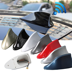 Car Shark Antenna Auto Radio Signal Aerials Accessories for Jeep Wrangler JK TJ YJ Grand Cherokee WJ XJ Renegade Compass Patriot(China)