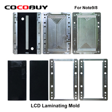 Samsung laminating mold for Samsung Note 8/9 unbent flex LCD OCA Polarizer Film Glass Laminating repair Machine mold for YMJ lcd laminating mold for iphone 6s 6sp lcd glass oca polari laminating reparized light machine mold for ymj laminating machine