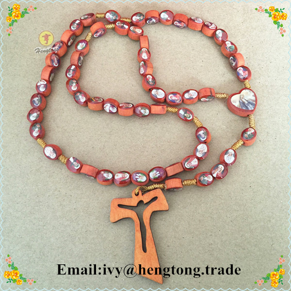 Freeship wholesale cheap oval wooden beads religious for Wooden craft crosses wholesale