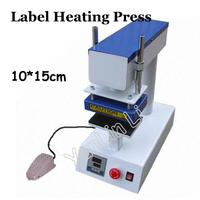 Label Heating Press Machine Pyrograph Press Machine Pneumatic heat press machine Beach pants hot stamping machine Clothing