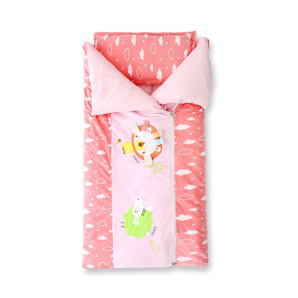 128*100 см Детские спальные мешки, постельные принадлежности, Детские спальные мешки для малышей, зимние мягкие спальные мешки с рисунком, плот