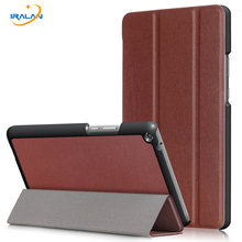 Hot PU Leather Flip Stand Cover for Huawei MediaPad T3 8.0 KOB-L09 KOB-W09 Tablet PC Case for Honor Play Pad 2 8.0 inch+film+pen(China)
