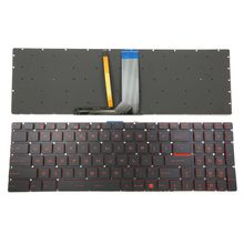 New Red Backlit Keyboard For GL62M GL62MVR GL62VR GL63 GL72M GL72V GL73 GV62 GV62VR GV72 GV72VR Series Laptop US English(China)
