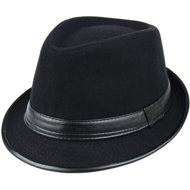 7f00e3d3e05 Online Shop Winter Retro Fashion Men Women Wide Brim Fedora Hats Jazz Caps  Flat Top Hat Gorras Casquette Wool Felt Brief Style Hat Chapeu