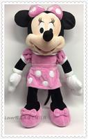 Minnie Mouse Toys 30cm Minnie Pink Stuffed Animals Pelucia Mickey Mouse Girl Friend Minnie Plush Toys