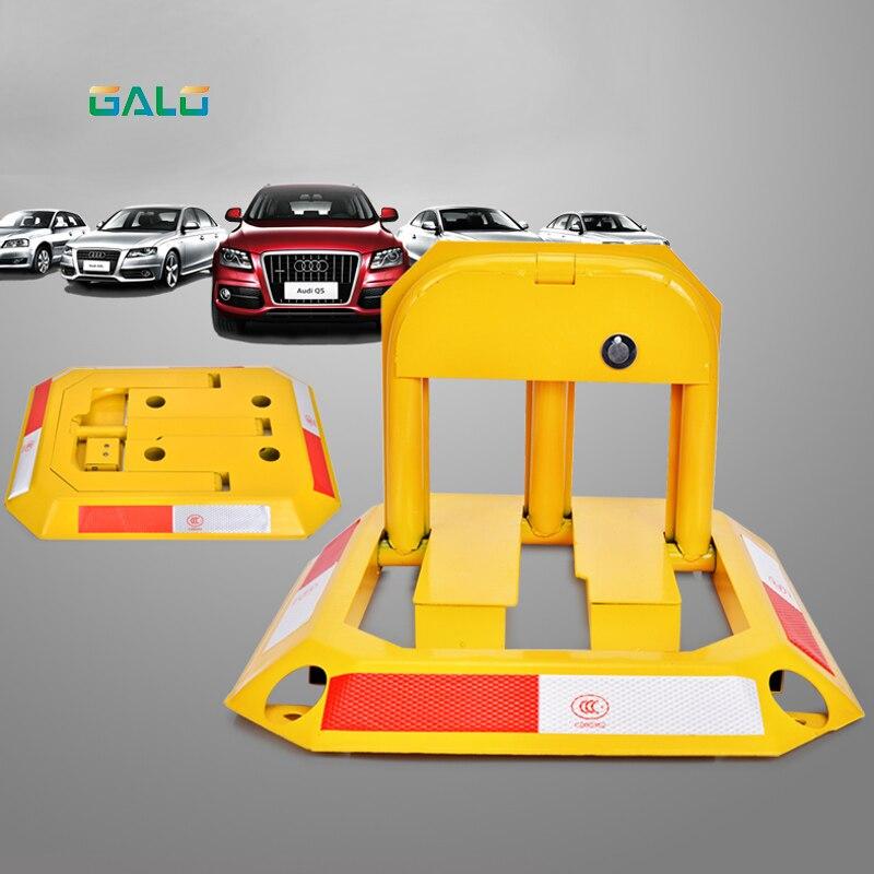 Octagon Steel Car Parking Blocker, Car Parking Barrier, Manual Parking Lock Bollard Post