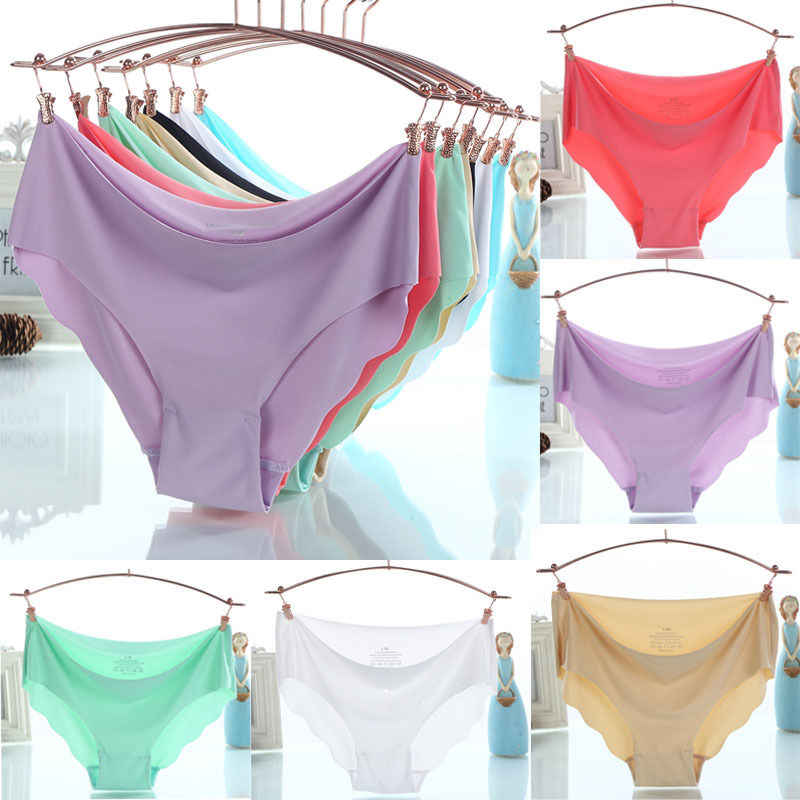 69af8691d6b7 ... Sexy Female Ice Touth Feeling Panties Seamless Soft Lingerie Brief  Modal Underwear Underpants Quick Drying Briefs10 ...