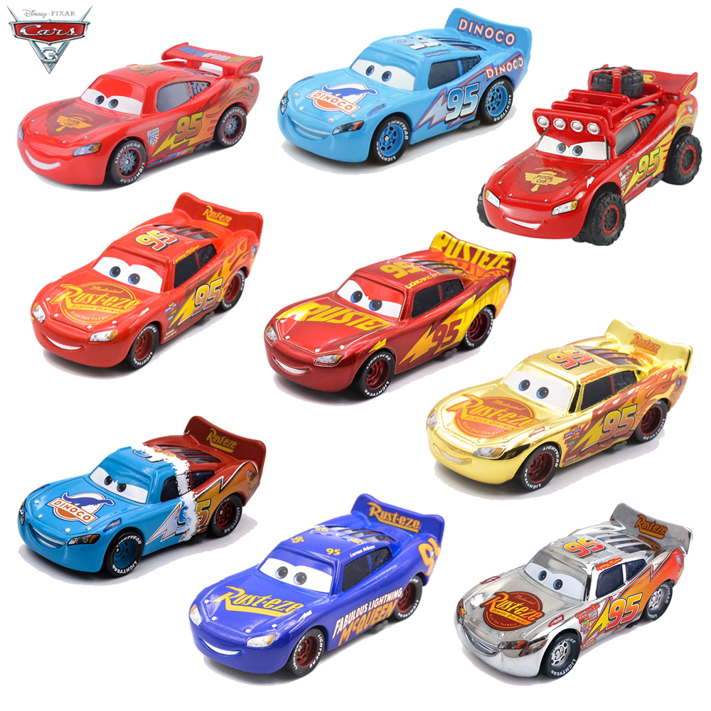 Disney Pixar Metal 1 55 Toys Cars 3 Lightning Mcqueen Jackson