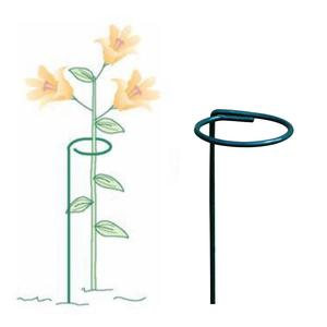 10Pcs Single Plant Stem Support Flower Branch Support Metal Gardening Plant Rack Creative Gardening Tools|Plant Cages & Supports| |  -