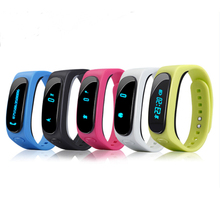 Für B1 Smart Armband Monitor Wasserdichte Weichen Bluetooth Uhr Handgelenk Smart Strap Passometer Smartwatch FÜR IOS Android-Handy