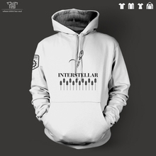 Interstellar original design endurance logo men unisex pullover hoodie sweatershirt 82% cotton fleece inside free shipping